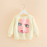 Sweater / sweater Other / other Pink, beige female winter nothing leisure time Socket routine No model cotton Cartoon animation Class B Intradermal bile duct