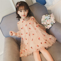 Dress female Other / other 100 = 7, 110 = 9, 120 = 11, 130 = 13, 135 = 15 Other 100% summer Korean version Long sleeves other chemical fiber other Class B 2 years old, 3 years old, 4 years old, 5 years old, 6 years old, 7 years old, 8 years old
