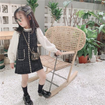Dress As shown in the figure female Other / other 90, 100, 110, 120, 130, 140 Polyester 100% spring and autumn Korean version Long sleeves lattice other Splicing style Class B 18 months, 3 years old, 4 years old, 5 years old, 6 years old, 7 years old, 8 years old Chinese Mainland