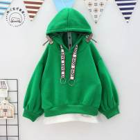 Sweater / sweater Other / other green female 90 = 7 yards winter No detachable cap Korean version Socket Plush No model other Class B