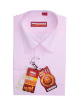 shirt Business gentleman Laoyeche / classic car 38,39,40,41,42,43 Pure white 501, pure pink 502, pure blue 612202220282024202252026202722020229 Thin money square neck Short sleeve easy go to work summer middle age Polyester 65% cotton 35% Business Casual 2020 Solid color Color woven fabric cotton