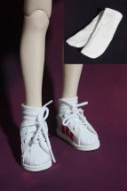 BJD doll zone Socks 1/4 Over 14 years old goods in stock white 6 points 4 points 3 points uncle pass code nothing