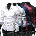 shirt Youth fashion Others M,L,XL,XXL,XXXL routine Button collar Long sleeves Self cultivation Other leisure spring youth Exquisite Korean style