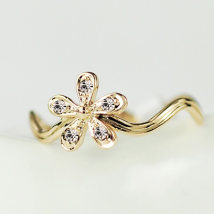 Ring / ring 1.00-9.99 yuan Alloy / Silver / Gold The smell of Sunshine Feel/ Sunshine brand new Business/OL Spot Female Network features Gold-plated inlaid artificial gemstone / semi-precious stone Cross / crown / Roman numerals H1401