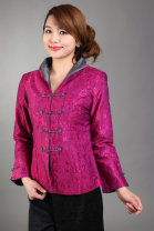 jacket Spring 2017 M,L,XL,XXL,XXXL,4XL,5XL White, red, purple, black, army green Women's long sleeves in Tang Poetry Minnie Over 35 years old