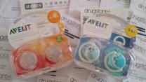 Pacifier / Pacifier Pacifier silica gel newborn AVENT / Avent 2 Pack U.S.A
