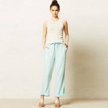Casual pants White, pink, light green, blue XS,S,M,L