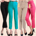 Casual pants It's red, it's nine, it's black, it's nine 27 [2 ft waist], 28 [2 ft 1 waist], 29 [2 ft 2 waist], 30 [2 ft 3 waist], 31 [2 ft 4 waist], 32 [2 ft 5 waist], 33 [2 ft 6 waist], 34 [2 ft 7 waist] Spring 2020 Ninth pants Pencil pants High waist routine 35-39 years old cotton