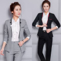 suit Autumn 2016 Black top + skirt, black top + trousers S,M,L,XL,2XL,3XL Long sleeves routine Self cultivation Versatile YJ6602 18-24 years old 30% and below nylon