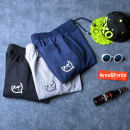 Casual pants Love in big clothes Youth fashion Black light gray Navy Blue Navy thickening light gray thickening black thickening M L XL 3XL 4XL 5XL 6XL 7XL 8XL S XXL XS routine trousers Other leisure Self cultivation get shot AF1529 autumn Large size tide 2015 Medium high waist Little feet Sanding