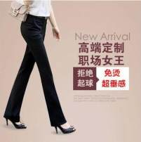 Suit pants / suit pants Winter 2015 Self cultivation trousers routine Self made pictures 25-29 years old 91% (inclusive) - 95% (inclusive) zipper Cotton blended fabric Korean version
