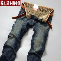 Jeans Youth fashion Baylor rhinoceros Twenty-eight 087-1 routine Regular denim G087 Cotton 77.3% polyester 15.6% viscose 7.1% Fall 2017