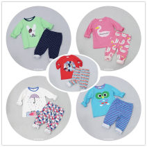 Home suit Other / other 90cm,100cm,105cm,110cm,120cm,130cm,140cm,150cm spring and autumn neutral 3-5 years old, 5-7 years old, 7-9 years old, 9-11 years old It can eliminate dampness, absorb sweat, resist static electricity and stay at home Lycra Lycra