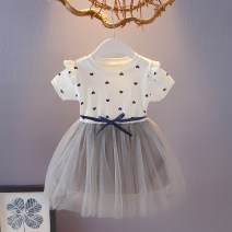 Dress Love pink, love white, love yellow female Other / other Other 100% summer Korean version Skirt / vest other other Splicing style Class B 12 months, 6 months, 9 months, 18 months, 2 years, 3 years