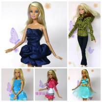 Doll / accessories 2, 3, 4, 5, 6, 7, 8, 9, 10, 11, 12, 13, 14, and over 14 years old parts Other / other China Half the freight for 4 pieces, 6 pieces by parcel post < 14 years old other parts Fashion cloth nothing clothing