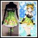 Cosplay women's wear skirt Customized Over 8 years old Guoguo suit, South bird suit, Dongtiaoxi suit, Lin suit, Zhenji suit, Huayang suit, Nicole suit, Huili suit, Haiwei suit, bracelet, ankle ring, skirt (LED light) Animation, games L,M,S,XL Butterfly House Japan Love Live! clothing