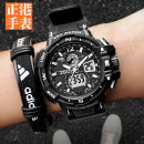 Wristwatch Zhenggang Shop warranty Electronic movement male resin domestic 3ATM rubber Plexiglass mirror 16.2mm 52.96mm ZG504G-R circular motion Double explicit brand new Pin buckle ordinary ordinary Big dial Autumn and winter 2014 24-hour indication clock alarm calendar week display month display