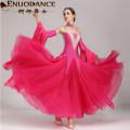 Modern dance suit (including performance clothes) Graceful dancer Waltz, tango, Foxtrot, trot female S,M,L,XL,XXL,XXXL Sequins