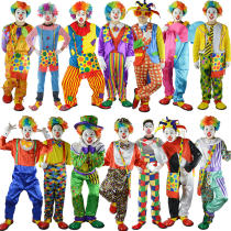 Clothes & Accessories Five children fighting for happiness Halloween Movie characters Adult Clown Costume nothing