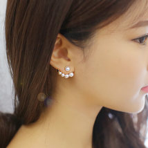 Ear Studs Alloy / silver / gold 10-19.99 yuan O & middot; Yagi Rose gold without ear hole ear clip gold without ear hole ear clip platinum without ear hole ear clip rose gold with ear hole 925 silver needle platinum with ear hole 925 silver needle gold with ear hole 925 silver needle brand new female