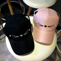 Hat S M 2-7 years old adult female peaked cap dome Shopping Other / other Wide eaves polyester fiber five million six hundred and eighty-four thousand seven hundred and forty-seven