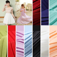 Fabric / fabric / handmade DIY fabric chemical fiber Loose shear piece Solid color other clothing Europe and America