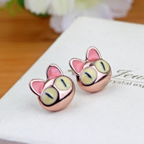 Ear Studs Alloy / silver / gold 51-100 yuan Spirit still Golden couple brand new Bohemia female goods in stock Fresh out of the oven Not inlaid MS0029