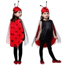 Clothes & Accessories Happy party S (suitable for 95-110cm height) m (suitable for 110-120cm height) l (suitable for 120-130cm height) children's conjoined socks 11cm pumpkin lamp a Children's Day Animals and insects Cute ladybug nothing