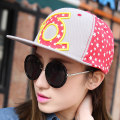Hat Cotton polyester Sky blue pink red royal blue yellow One size fits all (56-58cm) Baseball cap Spring summer autumn winter currency street flat roof