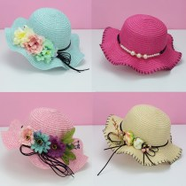 Hat Average size 2-6 years old (head circumference 48-52cm) adult children's model (head circumference 55-58cm) female Fisherman hat dome Travel Other / other Wide eaves other