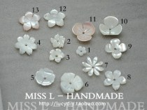 Other DIY accessories Loose beads Pearl oyster RMB 1.00-9.99 brand new Fresh out of the oven MISS L ZB25