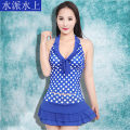 Split swimsuit Other / other Average size Skirt split swimsuit With chest pad without steel support polyester fiber