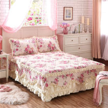 Bed skirt cotton Gray, orange, rose, pink, red, orange, light yellow, gold, yellow, sky blue, blue, violet, purple, light gray, white, lemon yellow, light purple, convention, medium pink, red plum Other / other Plants and flowers Qualified products