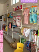Clothing display rack Thickened 2.4m column / piece, thickened 2.2-2.8 telescopic column, laminate, side hanging bracket, front hanging bracket, five hooks, laminate bracket, cross beam, customized size Official standard