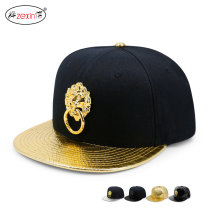 Hat other Adjustable size 56-60cm Hip hop hat Spring summer autumn winter currency street Middle aged young couple dome Wide eaves rivet Flat eaves