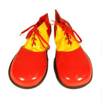 Clothes & Accessories Love Novelty Red green cloth clown shoes Clown shoes