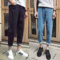 Jeans Youth fashion Mafuti M dark gray routine No bullet Regular denim E-commerce b408 N100 Cotton 80% polyester 20% Winter 2016 Pure e-commerce (online only) Mafti e-commerce b408 N100