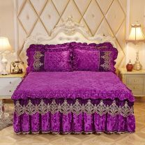 Bed skirt Others Camel, bean paste, beige, pink, Meizi, Meihong, Baolan Other / other Solid color Qualified products S-021238
