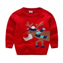 Sweater / sweater cotton neutral gules Other / other No model Socket routine Crew neck nothing Ordinary wool Cartoon animation Cotton 95% other 5% Class B 18 months, 2 years old, 3 years old, 4 years old, 5 years old, 6 years old, 7 years old, 8 years old, 9 years old
