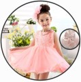 Children's dress White long sleeve, pink long sleeve, red long sleeve, White Sleeveless, pink sleeveless, red sleeveless, plush white, plush red, Plush Pink female 80cm,90cm,100cm,110cm,120cm,130cm,140cm,150cm Other / other full dress L-51 other Polyester 100%