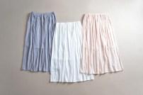 skirt Summer 2016 Average size White, gray, light pink longuette fresh Natural waist Pleated skirt Solid color QD-170