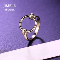 Ring / ring Alloy / silver / gold 51-100 yuan Jimele / qimili Tjz6 circle gold small tjz6 circle gold medium tjz6 circle Gold Large brand new goods in stock Japan and South Korea female Fresh out of the oven other other TJZ6 Spring of 2018 no Exclusive to tmall (only sold in tmall)