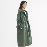 Windbreaker Spring of 2018 three billion six hundred and thirty-eight million four hundred and four thousand two hundred and forty-four KOMBU GREEN PORTSPURE RA8T002FWC006 Cotton 100%