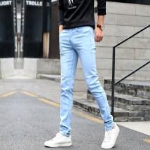Jeans Youth fashion Enchanting Twenty-eight Pure black routine Micro bomb Regular denim JSM103 Cotton 72% polyester 27% polyurethane elastic fiber (spandex) 1% Fall 2017 Pure e-commerce (online only)
