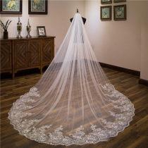 2020 bride Headdress Wedding dress parts Studio photograph 3 rice Wide door width belt Hair comb 3 rice long Sequin lace