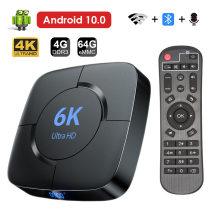 Cross border Hot money manufactor Network set top box H616 Android 10   6k high definition network player TV   BOX The Flying Hamster