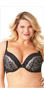 olga, flirty, full figure bras, lace bras, sexy bras