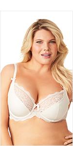 olga, flirty, sexy bras, lace bras, full figure bras, gi9711a