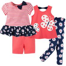 Gerber, Gerber Graduates, toddler clothes, kid clothes, infant clothes, girl tops, girl leggings