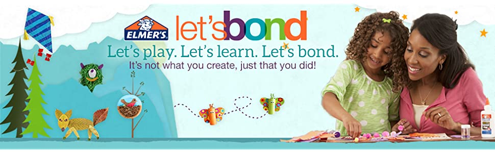 Let's play. Let's learn. Let's bond.